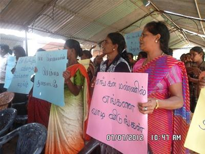 SL military has grabbed 5,210 acres of land in Mannaar, say protestors