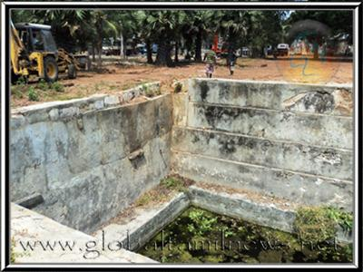 Historical Old Park in Jaffna town demolished